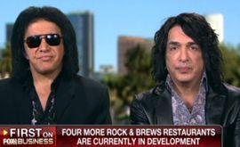 Gene Simmons, Paul Stanley on 'Rock & Brews' Restaurant