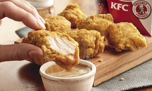 KFC's Original Recipe Bites Now Paired with America's Most Classic Dipping Sauce - KFC's World Famous Gravy