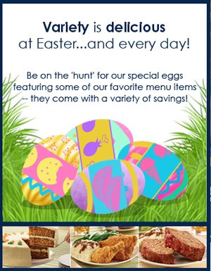The Easter Bunny Can't Compete With The Ryan's, HomeTown Buffet, And Old Country Buffet Virtual Easter Egg Hunt