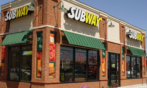 Subway, restaurants