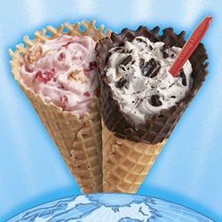Dairy Queen Restaurants Blizzard in a Waffle Cone
