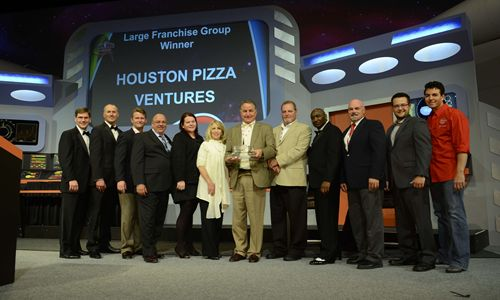 Papa John's Names 2013 Franchisees of the Year