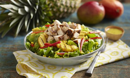 Pollo Tropical Introduces Tangy Pineapple Chicken Wrap and Chicken Salad