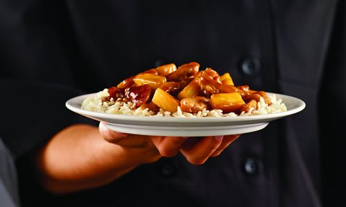 Ryan's, HomeTown Buffet, and Old Country Buffet Show the Sweeter Side of Stir Fry With Teriyaki Pineapple Chicken