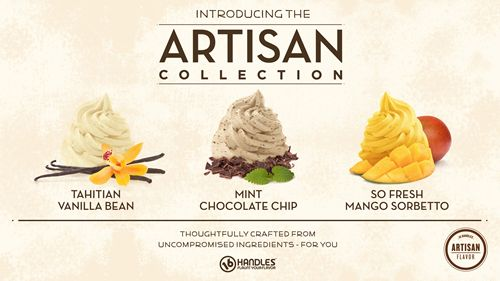 16 Handles Launches New Artisan Frozen Yogurt Collection in time for National Frozen Yogurt Month