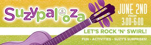"""Suzy's Swirl Kicks off Summer of Swirls at """"Suzypalooza"""""""