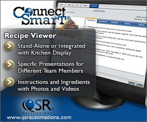 Veggie Grill Enhances Throughput, Maintains Recipes Remotely With Flexible ConnectSmart Kitchen Display and Recipe Viewer Solutions From QSR Automations