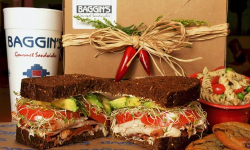Baggin's Gourmet Sandwiches Offers Online Ordering