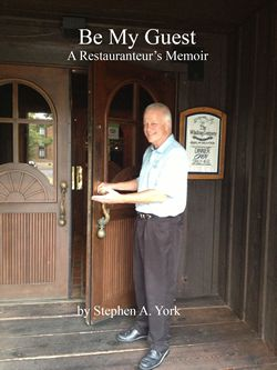 First-time author and restaurant owner, Stephen A. York, is reminded by the reviews of his new book why he has been both loved and hated throughout his career