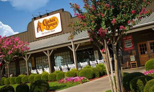 Cool off and Relax at Cracker Barrel Old Country Store