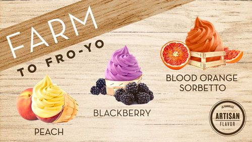 16 Handles Expands Artisan Frozen Yogurt Collection With New Fruit Flavors and Chef-Created Toppings