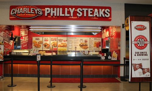 Charleys Philly Steaks Opens Its 500 Restaurant Location