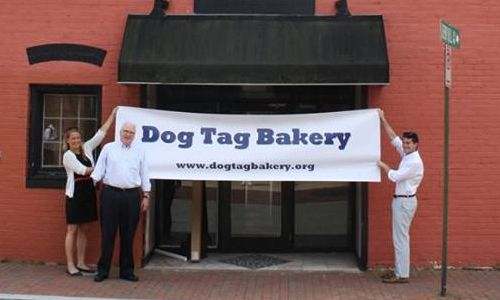Coalition to Salute America's Heroes Awards $5,400 Grant to Hire, Train First Employee at Dog Tag Bakery