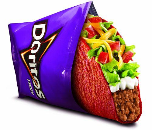 Fiery Doritos Locos Tacos to Heat up Taco Bell Restaurants August 22