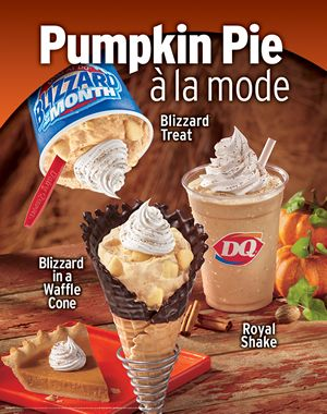 Dairy Queen Features Flavorful Favorites This Fall Restaurantnewscom