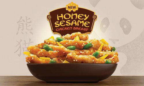 Honey Sesame Chicken Breast Buzzes Into Panda Express