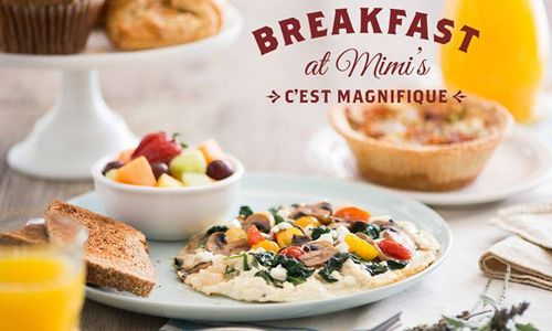 Mimi's Cafe Unveils Its All New, Unique And Delicious Menu Featuring Fresh Innovation And Time-Honored French Favorites