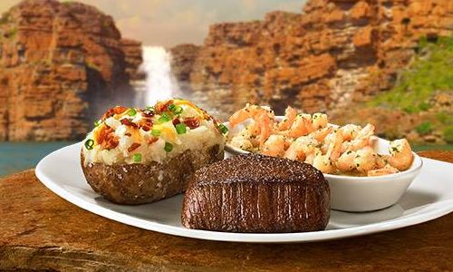 Hey, Mates! Unlimit Your Shrimp at Outback Steakhouse