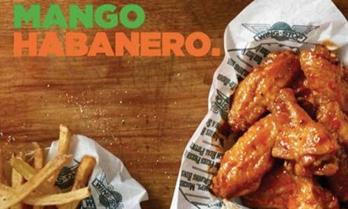 Wingstop Turns Up the Heat with Mango Habanero