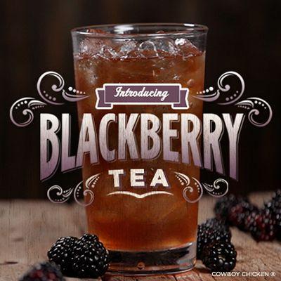 Cowboy Chicken Wood Fire Rotisserie Debuts Southern Blackberry Tea Along With Seasonal Southern Blackberry Cobbler