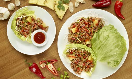 Pei Wei Spices up Fall with New Bold & Sweet Sriracha Pineapple Pork Lettuce Wraps