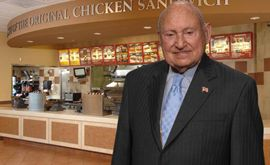 Truett Cathy steps down as CEO of Chick-fil-A