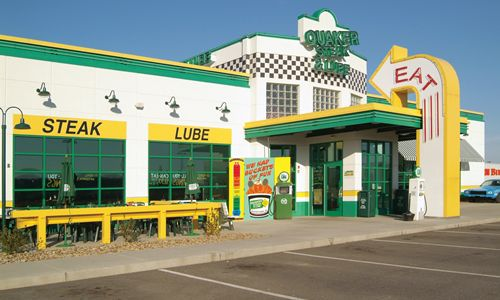 Quaker Steak Lube And Bosselman Food Services Inc Sign Agreement To Bring Restaurants