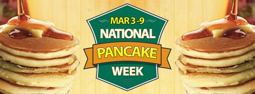 Sunny Street Café to Celebrate National Pancake Week March 3-9