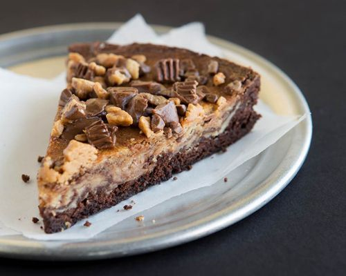 Peanut Butter and Chocolate Combine for Decadent Treat at Pie Five Pizza