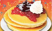 Roy Rogers Restaurants Introduces All You Can Eat Pancake Weekends