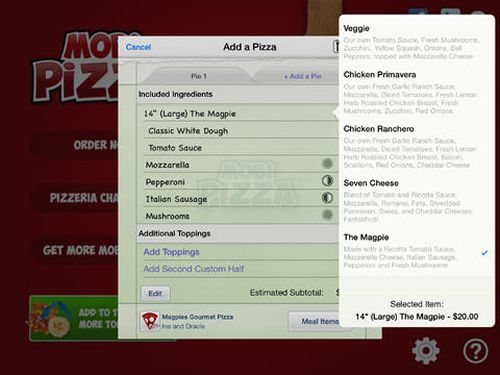 Mobi Pizza Levels Playing Field for Pizza Restaurants, Enabling All Pizza Shops to Offer Online Ordering Services
