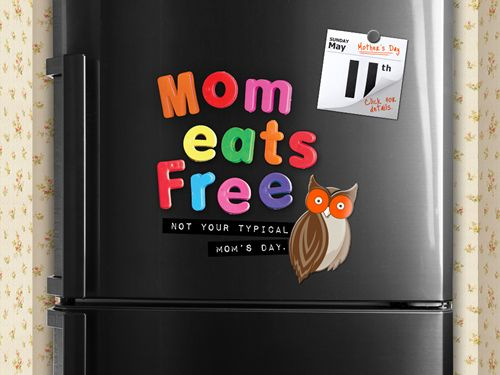 Moms Eat Free at Hooters on Mother's Day