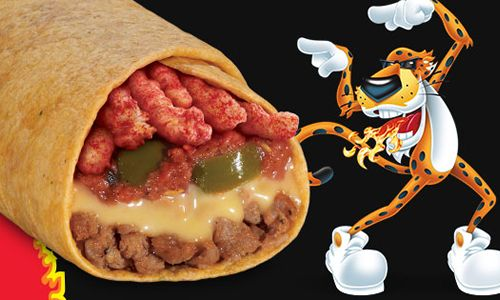 Taco John's Turns up the Heat with New Flamin' Hot Cheetos Burrito