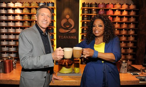 Teavana Oprah Chai Tea Debuts at Starbucks and Teavana Stores in the U.S. and Canada