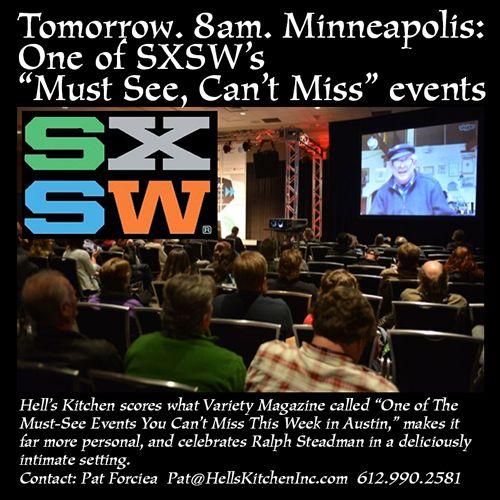 Hell S Kitchen Announces Ralph Steadman Memorial Day Skype Breakfast