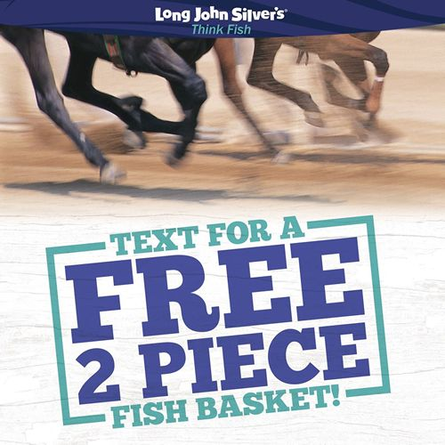 """Long John Silver's Gives Fans a """"Stake"""" in The Greatest Two Minutes in Sports with FREE Two-Piece Fish Basket"""