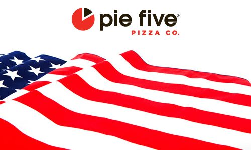 Remember. Honor. Celebrate: Pie Five Pizza Salutes America's Heroes on Memorial Day