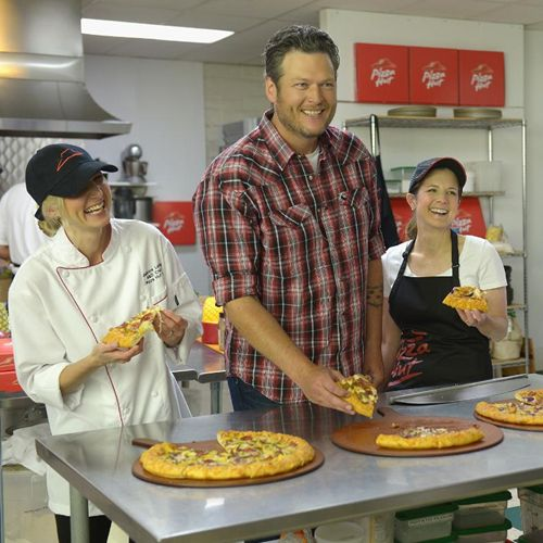 Pizza Hut Partners with Country Music Star Blake Shelton to Roll Out New Line of BBQ Pizzas