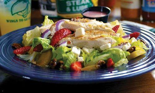 Healthy Dining Menu Options at Quaker Steak & Lube