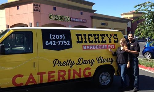 America's Got Talent Contestant Performs at New Dickey's Barbecue Pit in Tracy