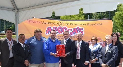 Arooga's & Mohegan Tribe Break Ground for First of 15 New England Restaurants