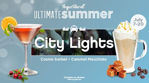 Vacation Hot Spots Inspire Yogurtland's 10 New Cool Summer Flavors