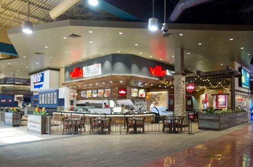 Arizona Mills Multi Million Dollar Food Court Transformation Complete Hall By
