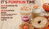 Tim Hortons Cafe & Bake Shop Celebrates Fall with the Return of Pumpkin Pie Goodness