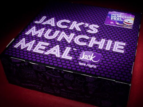 Jack in the Box Debuts New Late Night Instant Win Game - Jack's Munchie Peel - One in Four Guests Instantly Win