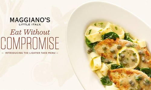 Maggiano's 'Lighter Take' On Classic, Italian Dishes Keeps The Portion & Flavor