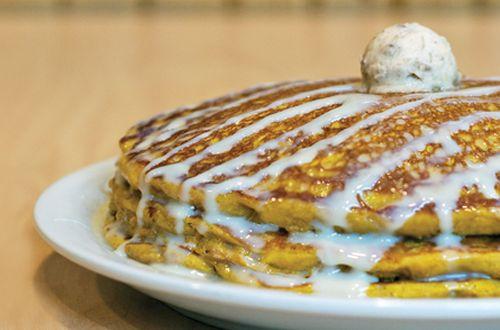Sunny Street Cafe Brings Back Pumpkin Pancakes