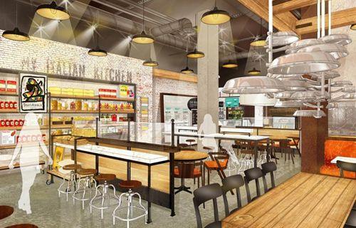 International Italian Restaurant Concept Spoleto My Kitchen Expands Into The U S