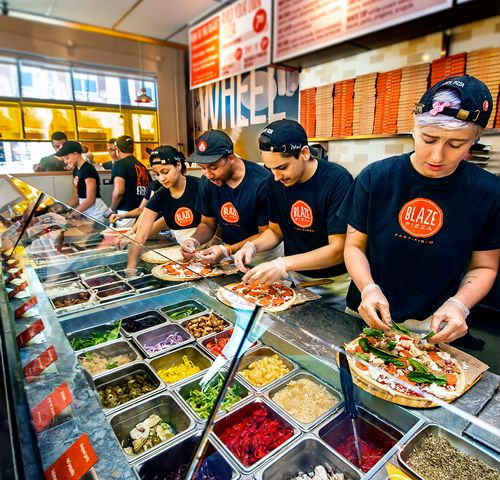 Blaze Fast-Fire'd Pizza and Levy Family Partners Announce Grand Opening of First Chicago Suburb Restaurant in Westfield Old Orchard Mall