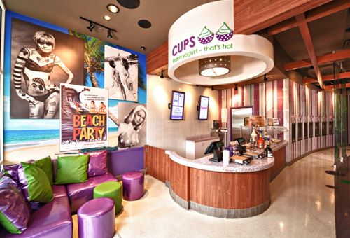 CUPS Frozen Yogurt - That's Hot Signs First Franchise Agreement in Texas